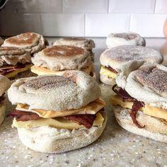 Make Ahead Freezer Friendly Breakfast Sandwiches
