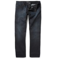 Dolce & Gabbana Straight-Leg Overdyed Jeans