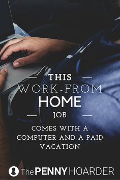 On the hunt for a legitimate work-from-home job? This part-time role with Digication doesn't require a college degree -- and you'll get a computer and paid vacation! - The Penny Hoarder http://www.thepennyhoarder.com/work-from-home-job-digication/