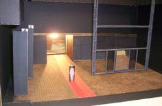 """Maqueta de la escenografía """"Así es, si así os parece"""". Producciones Andrea D'Odorico. Divider, Room, Furniture, Home Decor, Mosaics, Bedroom, Decoration Home, Room Decor, Rooms"""