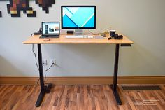 Triple Monitor In Many Styles Desks Business Frank Standesk Memory