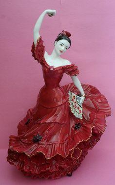 "Coalport ""Flamenco"" figurine"