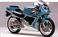 1989 Yamaha TZR250 Motorcycle TZR 250cc
