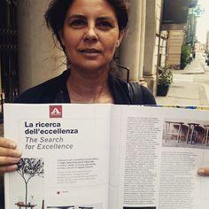#design #mediterranean #glass #materials  Thanks @abitare_magazine!  July 2015