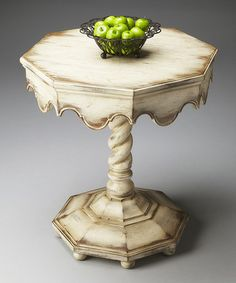 349.99-Another great find on #zulily! Vintage Octagonal Table #zulilyfinds 24 DIA. X 27/5 HT