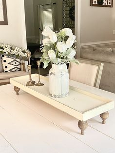 Table Centerpieces For Home, Table Decorations, Kitchen Island Centerpiece, Tiered Stand, Wood Tray, Metal Trays, Tray Decor, Rustic Farmhouse, Fall Decor