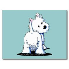 west highland white terrier dibujo - Buscar con Google