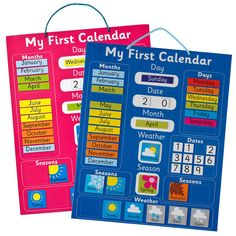 My First Magnetic Calendar - All Toys - Toys & Gifts