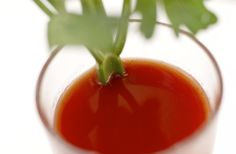 A newly published research suggests that  tomato juice can be helpful in reducing the damage from a strenuous workout!
