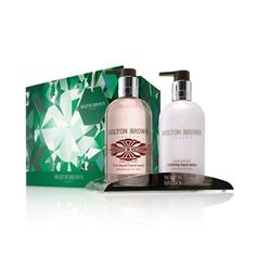 Luxury beauty products - hand wash and lotion gift set.