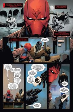 Jason Todd in Red hood and the Outlaws Rebirth