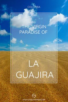 The Guajira is Colombia's best kept secret. Looking for a backpacking adventure to a virgin paradise where the desert meets the sea? Add Cabo de la Vela and Punta Gallinas to your bucketlist!