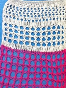 large scale mesh_knit side (tuck patterning combined with lace carriage use)