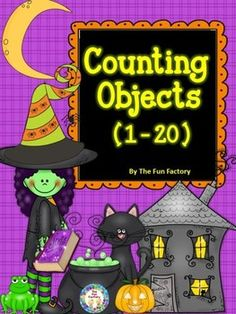 Counting Objects 1-20 is a fun way to keep learning and practicing skills through the holidays. Your students will have fun matching numbers to the Halloween pictures on the counting mats. The numbers 1-20 are included to meet the individual needs of your students.