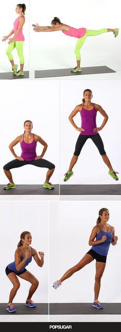No time to work out? You can make time for this � it's just 3 minutes and it targets your tush in just 3 moves.