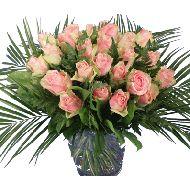 Roze rozen boeket  Vanaf: €19,95