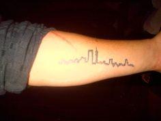 Puma Social Club, failed attempt at Johannesburg skyline tattoo, great idea nonetheless