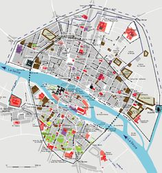 History of Paris - Wikipedia, the free encyclopedia France Map, Air France, Plan Ville, Plan Paris, Paris Map, Tell The World, Old Maps, Us Map, 14th Century