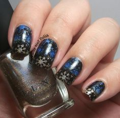 The Clockwise Nail Polish: Uber Chic Christmas 01 Stamping Plate Review