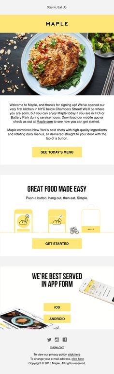 Best Pretty Emails Images On Pinterest Email Newsletter Design - Pretty email templates