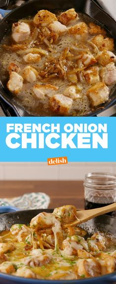 French Onion ChickenDelish