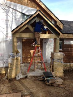 Custom Entry for Lake Front Lodge http://leecompanies.net/