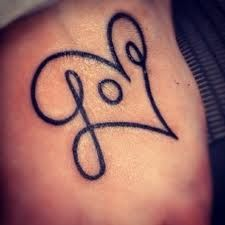 small love tattoos - Google Search, ring finger?