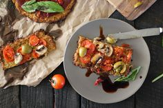 Nutrition Stripped   Cauliflower Pizza Crust   http://nutritionstripped.com