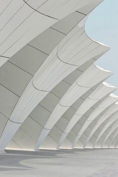 Shanghai Oriental Sports Center by gmp Architekten (Shanghai, China)