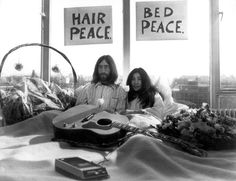John Lennon y Yoko Ono nos invitaban a 'imaginar'.