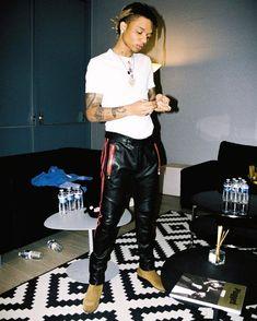 Rae Sremmurd's Swae Lee Rocks Balmain Pants With Saint Laurent Boots