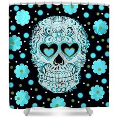 Teal Shower Curtain | Teal shower curtains