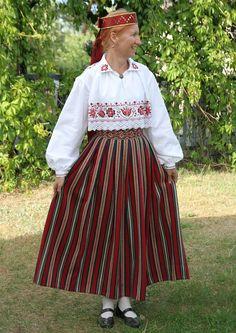 Ambla neiu kostüüm