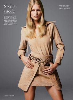 Anna Ewers for Vogue UK February 2015