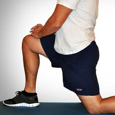 5 simple hip flexor stretches: it's easy to neglect our poor hip flexors— often without even knowing it.    It turns out just working at a desk all day can really weaken hip flexors since they tend to shorten up while in a seated position. This tightness disrupts good posture and is a common cause of lower back pain. Weakened hip flexors can also increase the risk of foot, ankle, and knee injuries (especially among runners