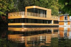 this is a house boat!