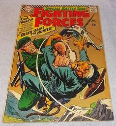 DC Comic Book Our Fighting Forces No 100 Capt Hunter 1966.....6.95