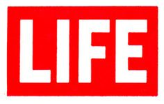 red and white logo of LIFE magazine