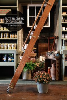 Say hello the newest kid on the block which opened its doors just a few weeks ago. This here is Sutter Creek Provisions—a purveyor of fine foods, craft beers, and live musical performances—owned by...