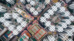 Hong Kong's Andy Yeung wins award in global photo contest for drone shot of Whampoa Garden estate - see all the winning shots Great Pictures, Beautiful Pictures, Kowloon Walled City, Relationship Comics, Fill The Frame, National Geographic Travel, Quotes About Photography, Inspiring Photography, Image Makers