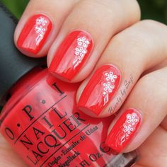 OPI Nail Lacquer, My Chihuahua Beats! + stickers