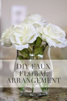 A DIY Tutorial project on how to make a silk flower arrangement for your home.