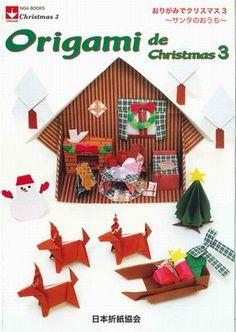 Az origami bolt Nippon Origami Egyesület - Christmas 3 origami