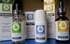 Oz Naturals for the best skin care. Look young and beautiful!