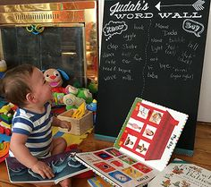 Judah's Word Wall + Make Your Own! | Disney Baby