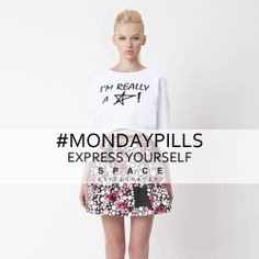 Feeling like a star also on monday!  #ExpressYourSelf  #MondayPills