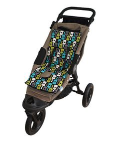 Take a look at this Guitars Rock Memory Foam Stroller Pad & Seat Liner by Tivoli Couture on #zulily today!