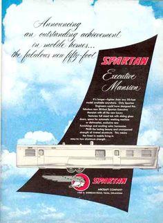 1955 Spartan Ad