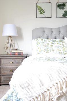 Budget master Bedroom Makeover via The Cofran Home E for Cost Plus World Market www.worldmarket.com