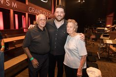 Chris Young with his grandparents at the Grand Ole Opry